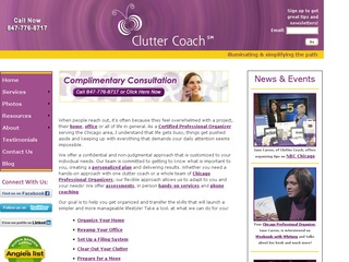 Clutter Coach Connection