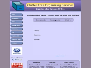 Clutter-Free Organizing Services