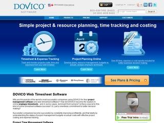 Dovico Timesheet Software