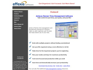 Effexis Software for GTD