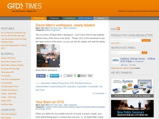 GTD Times: The official blog for David Allen, Getting Things Done (R) and GTD (R)