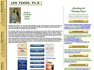 Jan Yager, Ph.D.