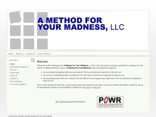 Method for Your Madness