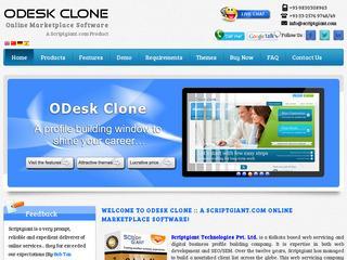 Odesk Clone Script