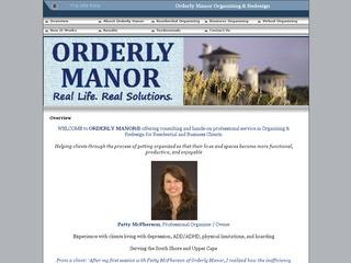 Orderly Manor
