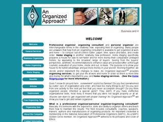 An Organized Approach