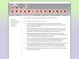 The Organized Woman