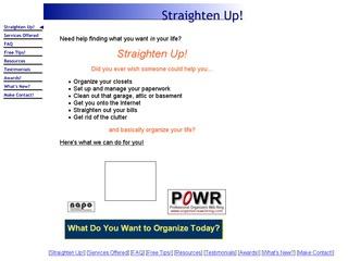 Straighten Up