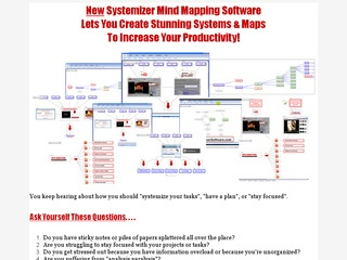 Systemizer Mind Mapping Software