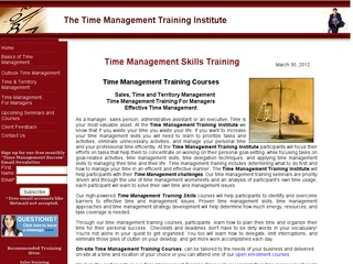 Time Management Training Institute