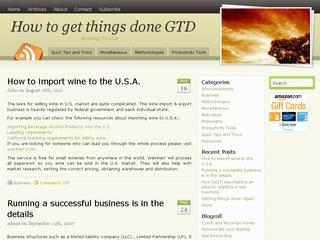 How to get things done GTD